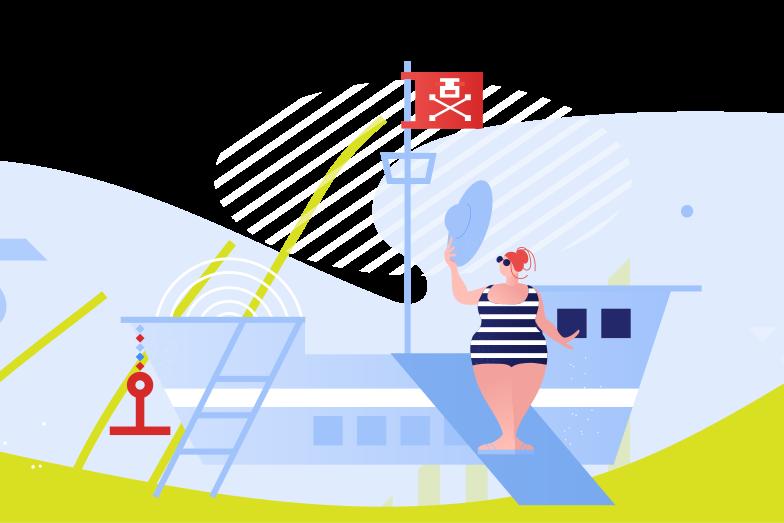 Voyage Clipart illustration in PNG, SVG