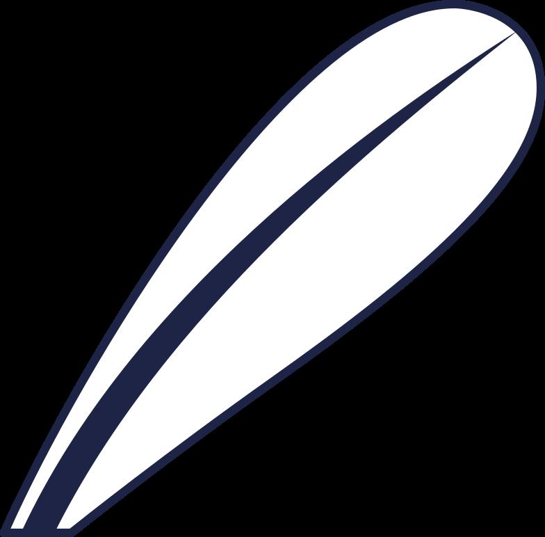 leaf 6 line Clipart illustration in PNG, SVG