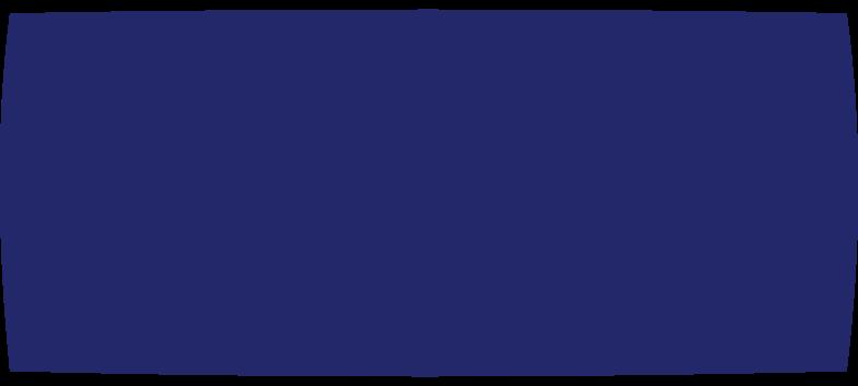 restangle dark blue Clipart illustration in PNG, SVG