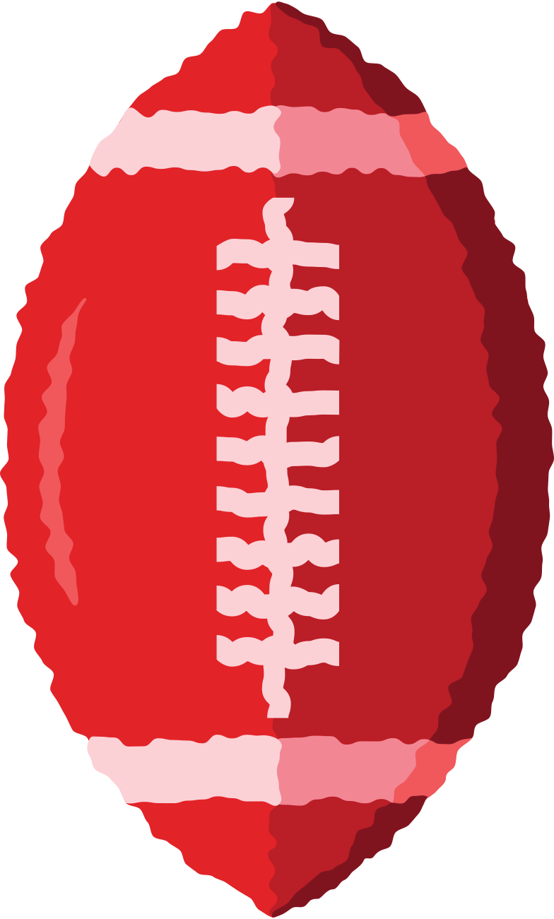 rugby ball Clipart illustration in PNG, SVG