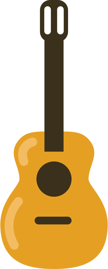 guitar acoustic Clipart illustration in PNG, SVG
