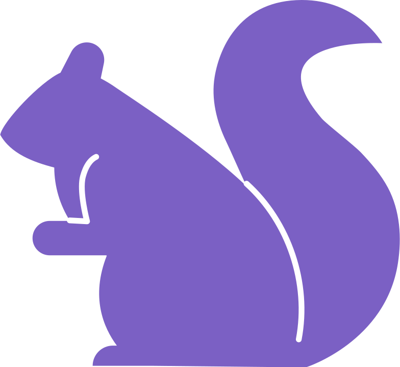 squirrel Clipart illustration in PNG, SVG