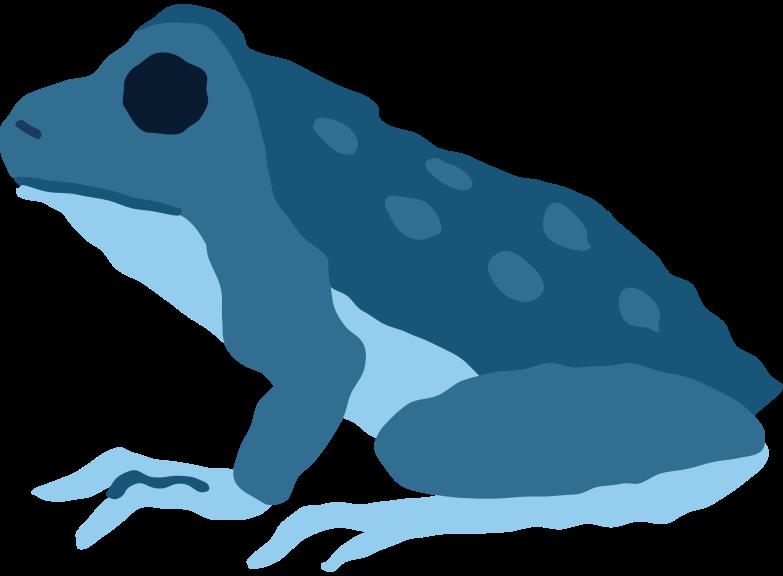 frog sitting Clipart illustration in PNG, SVG