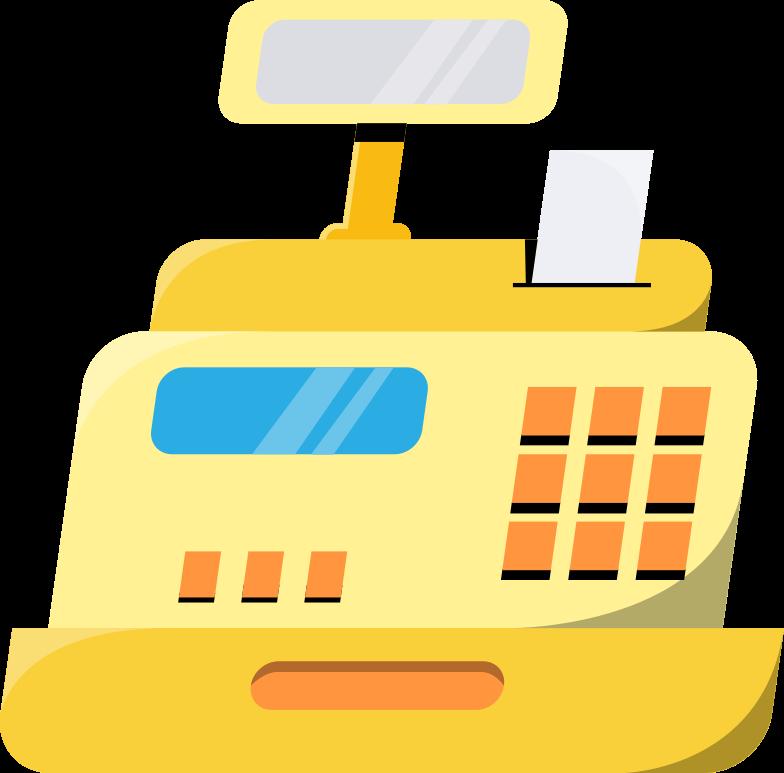 cash machine Clipart illustration in PNG, SVG