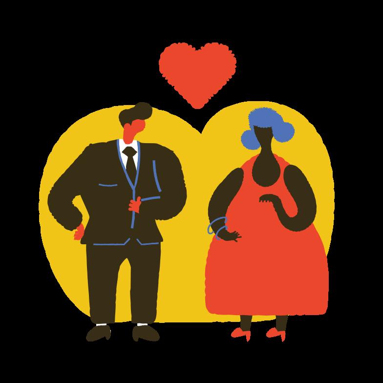 Love affair Clipart illustration in PNG, SVG