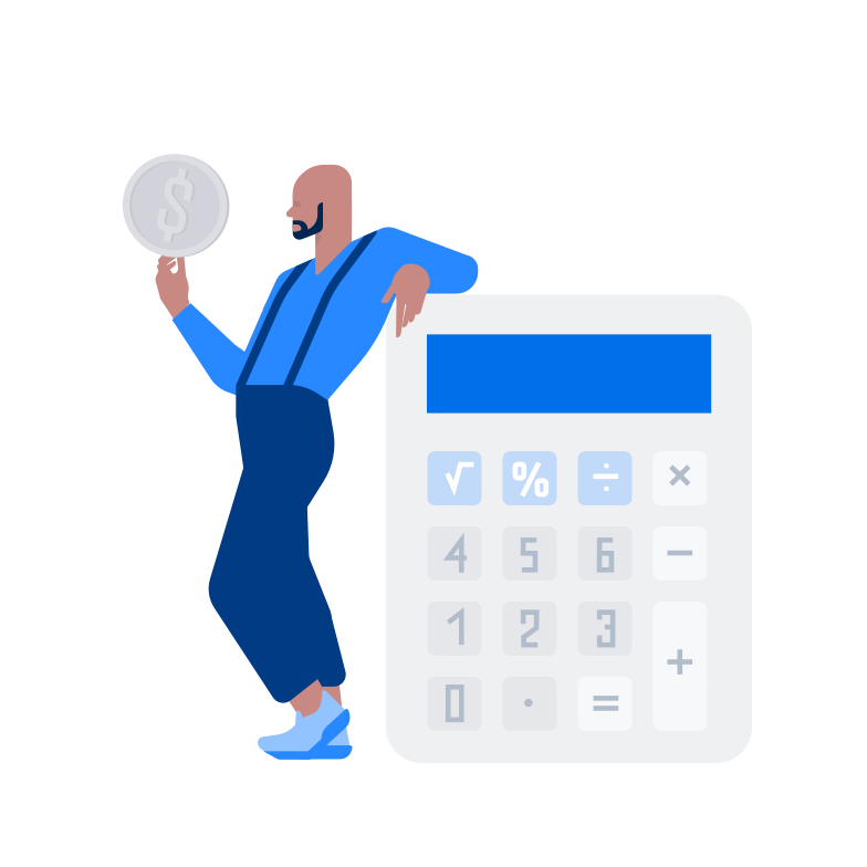 Calculation Clipart illustration in PNG, SVG