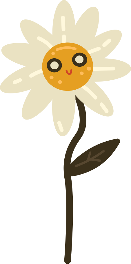 daisy Clipart illustration in PNG, SVG