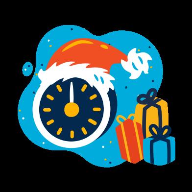 Imágenes de Medianoche de navidad estilo  en PNG y SVG   Ilustraciones Icons8