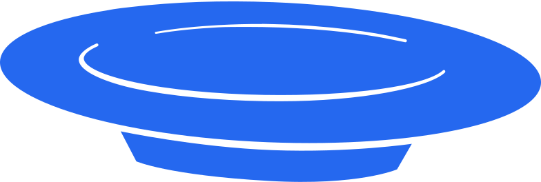 Ilustración de clipart de plato en PNG, SVG