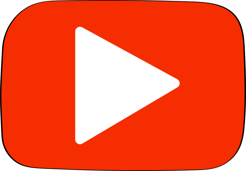 youtube Clipart illustration in PNG, SVG