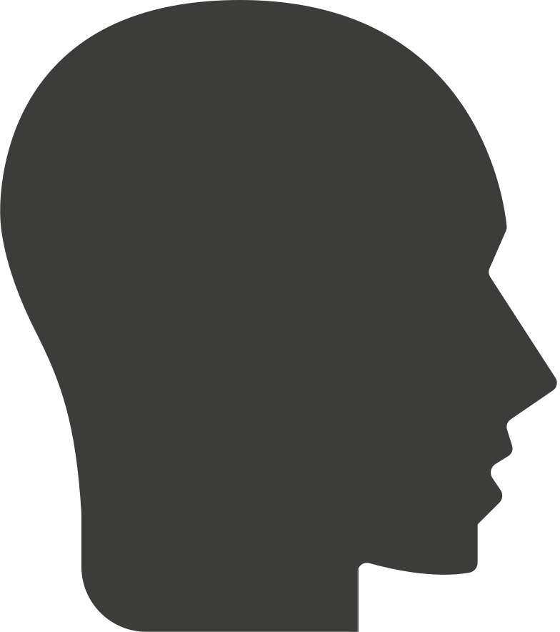 e human head Clipart illustration in PNG, SVG