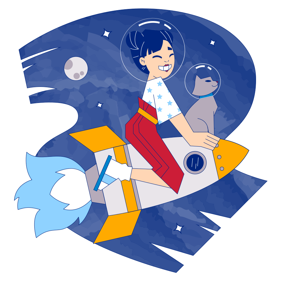 style Cosmic adventure Vector images in PNG and SVG   Icons8 Illustrations
