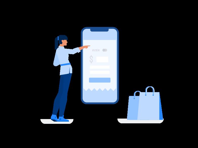 Online einkaufen Clipart-Grafik als PNG, SVG