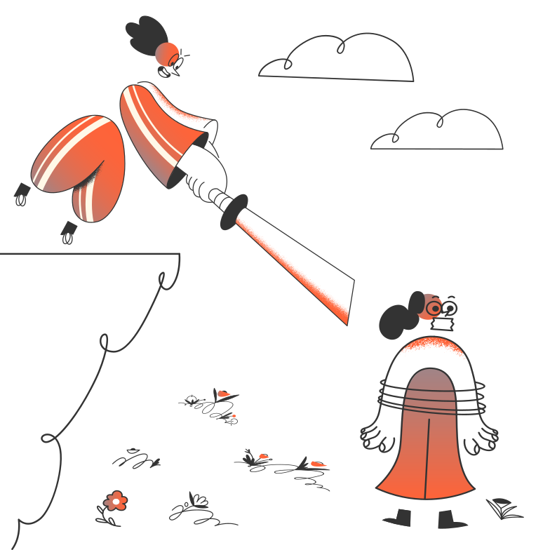 Samurai Clipart illustration in PNG, SVG