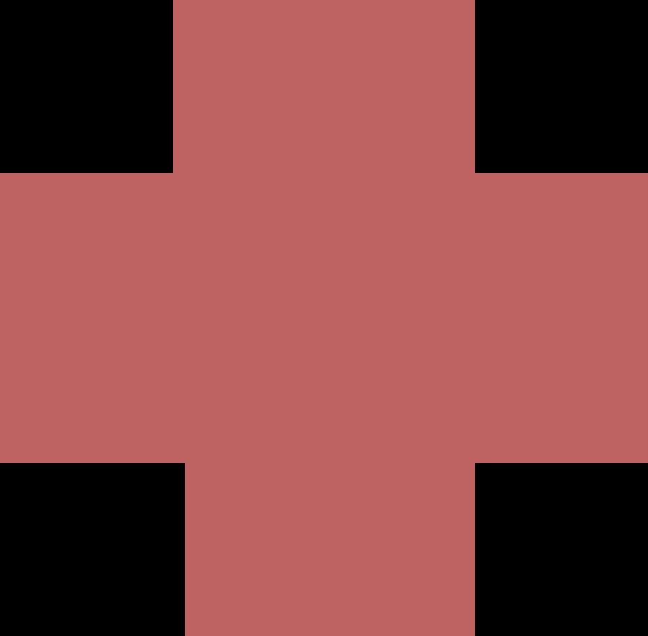 cross burgundy Clipart illustration in PNG, SVG