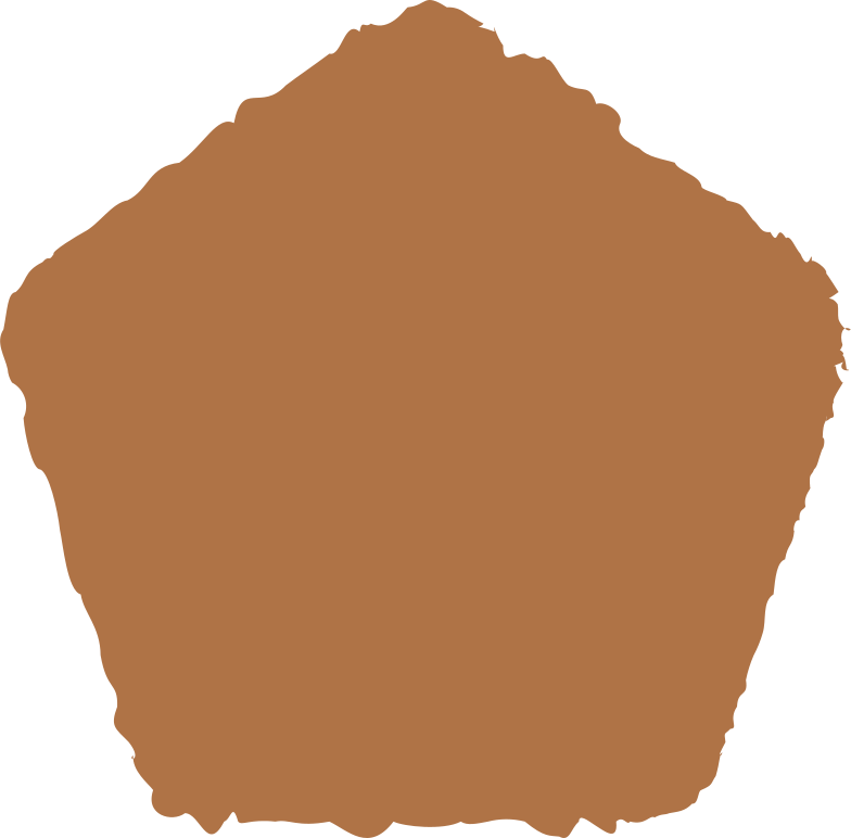 style pentagon brown Vector images in PNG and SVG | Icons8 Illustrations
