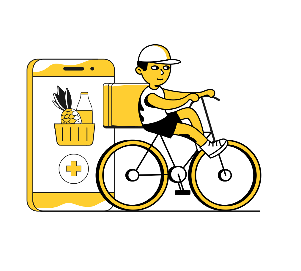 Delivery club Clipart illustration in PNG, SVG
