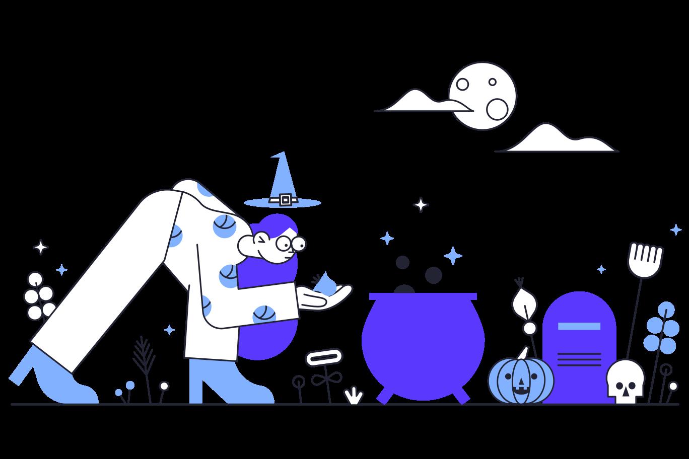 Ilustración de clipart de Adivinación en PNG, SVG