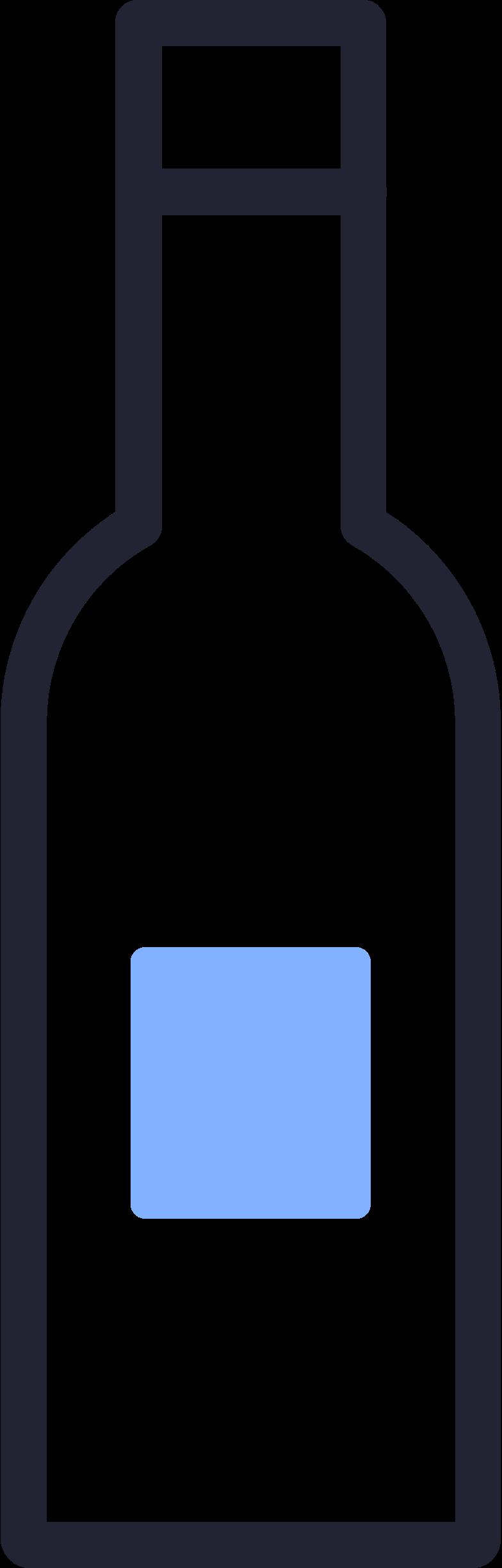 bottle wine Clipart illustration in PNG, SVG