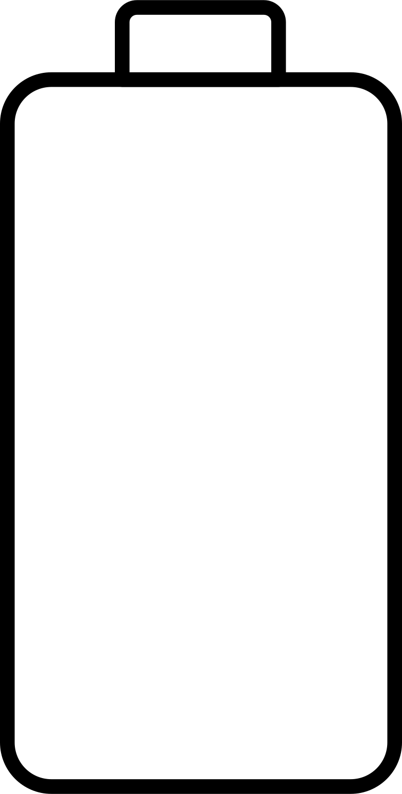 empty battery Clipart illustration in PNG, SVG
