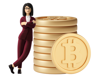 style Bitcoin advisor images in PNG and SVG | Icons8 Illustrations