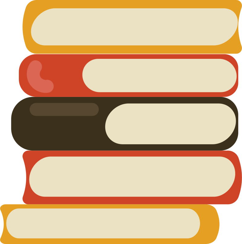 books pile Clipart illustration in PNG, SVG