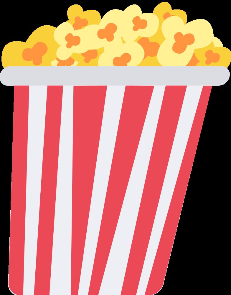 pop corn Clipart illustration in PNG, SVG