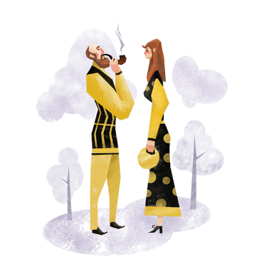 style Man and woman images in PNG and SVG | Icons8 Illustrations