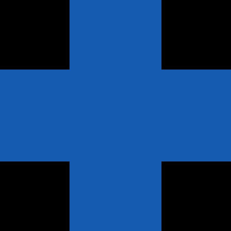 Иллюстрация Кросс-синий в стиле  в PNG и SVG | Icons8 Иллюстрации