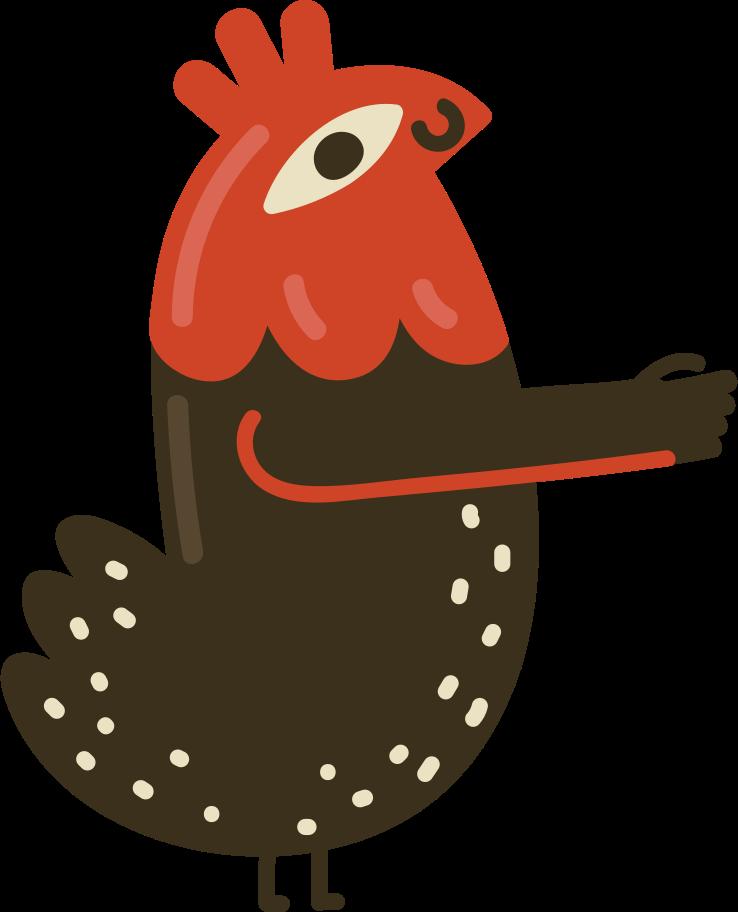 rooster Clipart illustration in PNG, SVG