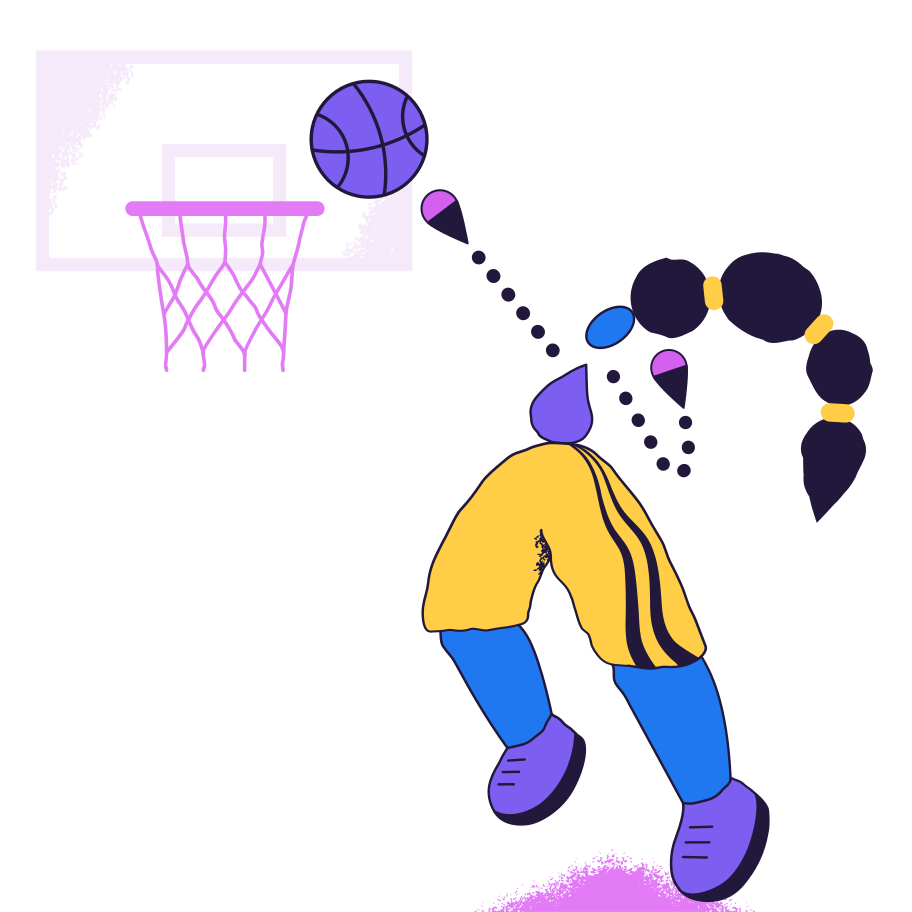 Score a goal Clipart illustration in PNG, SVG