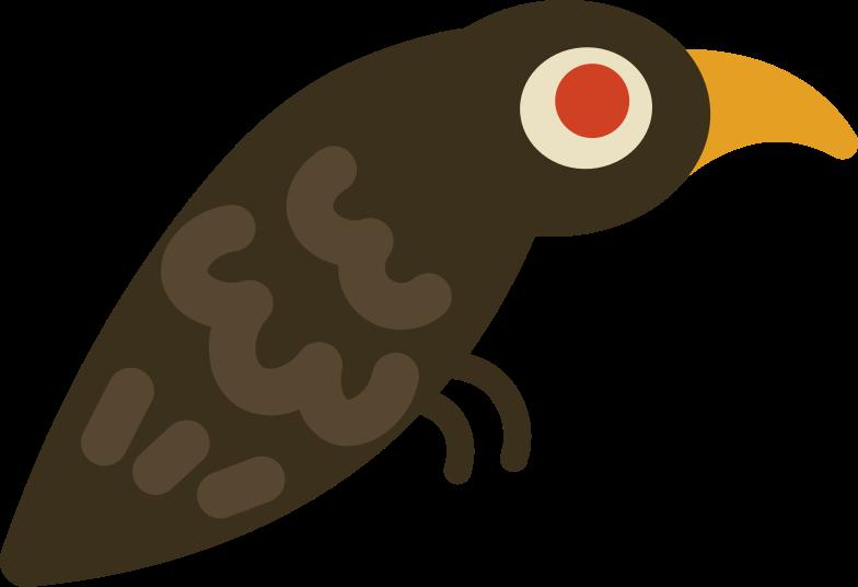 raven Clipart illustration in PNG, SVG