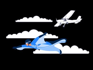 Иллюстрация Вышли из в стиле  в PNG и SVG | Icons8 Иллюстрации