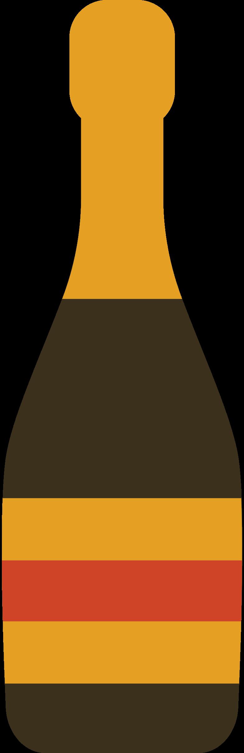 champagne bottle Clipart illustration in PNG, SVG