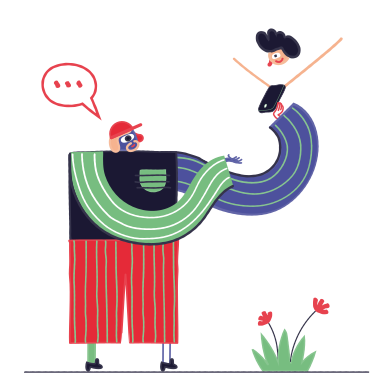 style Communication of the future images in PNG and SVG | Icons8 Illustrations