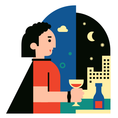 style Vampire Evening images in PNG and SVG | Icons8 Illustrations