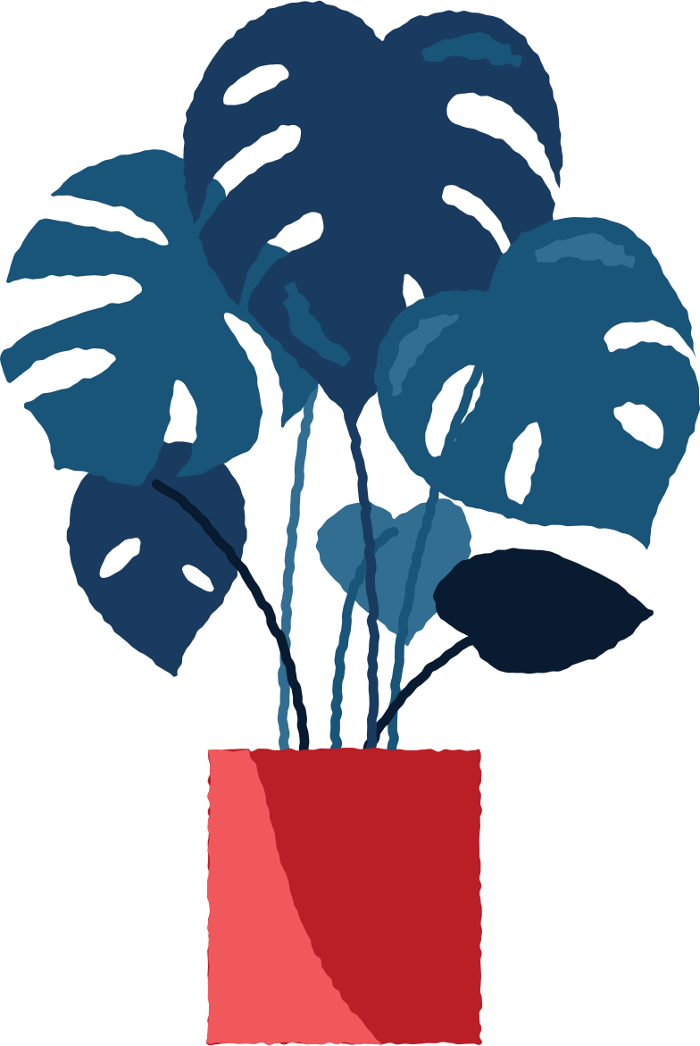 style monstera in pot Vector images in PNG and SVG | Icons8 Illustrations