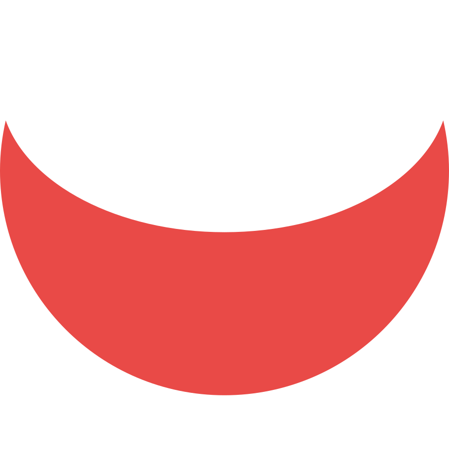 crescent red Clipart illustration in PNG, SVG