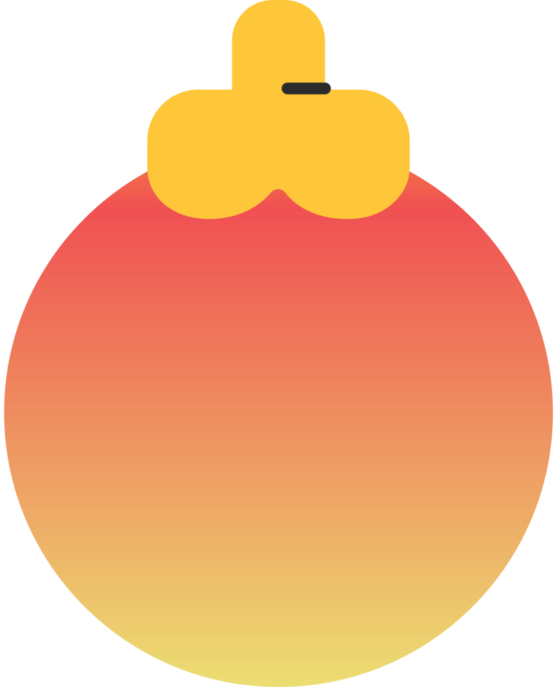 style christmas ball orange Vector images in PNG and SVG | Icons8 Illustrations
