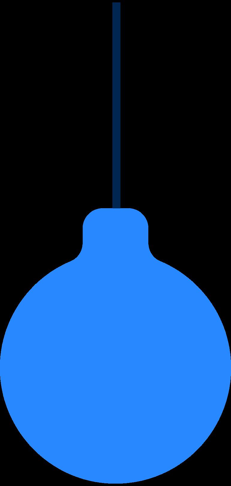 Ilustración de clipart de new year tree ball en PNG, SVG