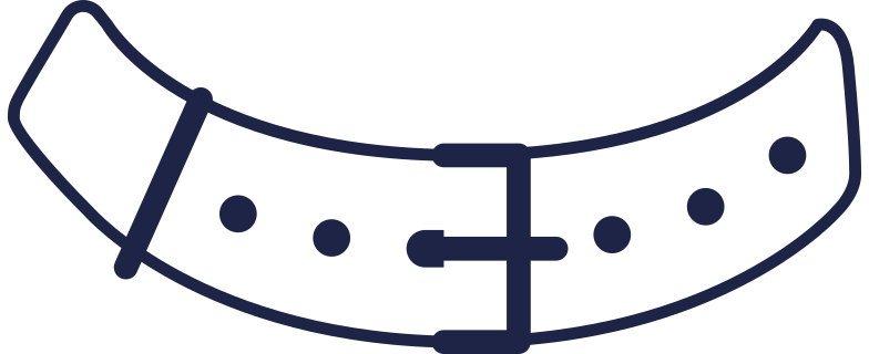 style belt for athletic line Vector images in PNG and SVG | Icons8 Illustrations