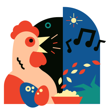 style Chicken images in PNG and SVG | Icons8 Illustrations