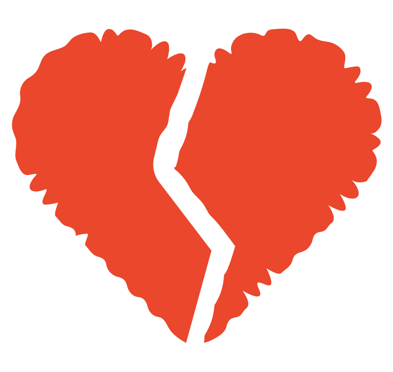 style broken heart Vector images in PNG and SVG | Icons8 Illustrations