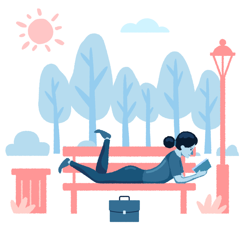 style Chill in the park Vector images in PNG and SVG | Icons8 Illustrations