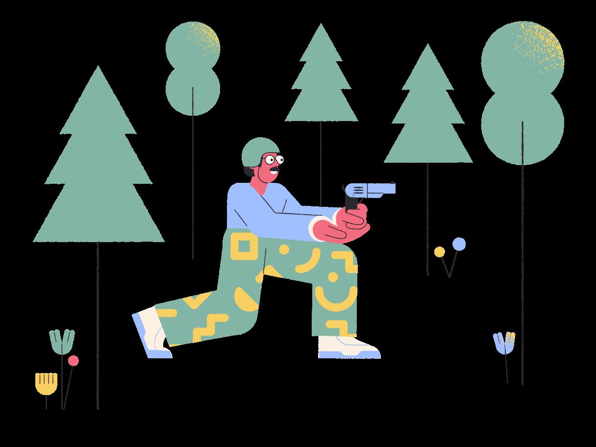 Soldado Clipart illustration in PNG, SVG