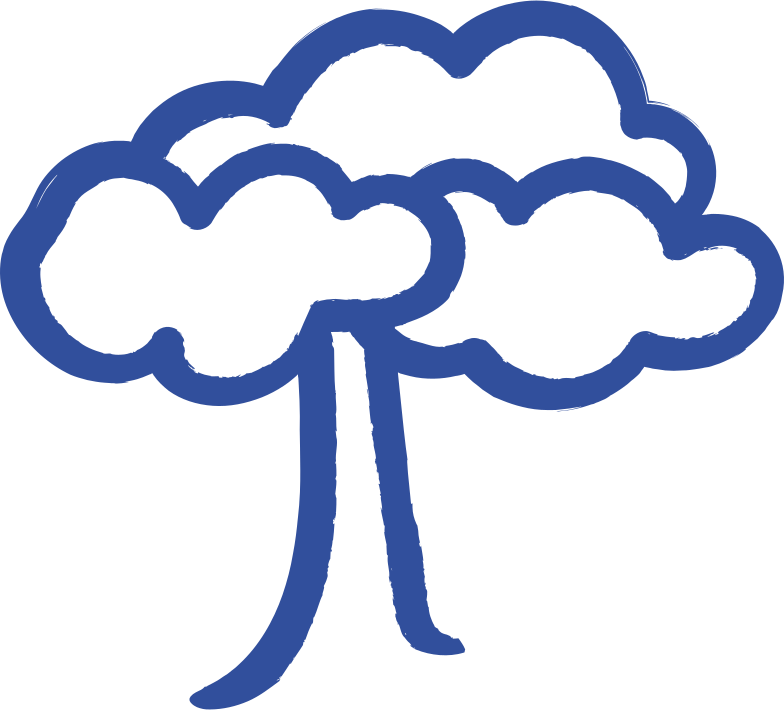 leaf tree Clipart illustration in PNG, SVG