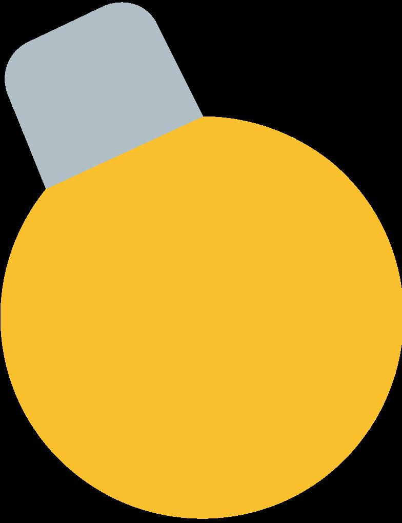 Ilustração de clipart de lâmpada de férias em PNG e SVG