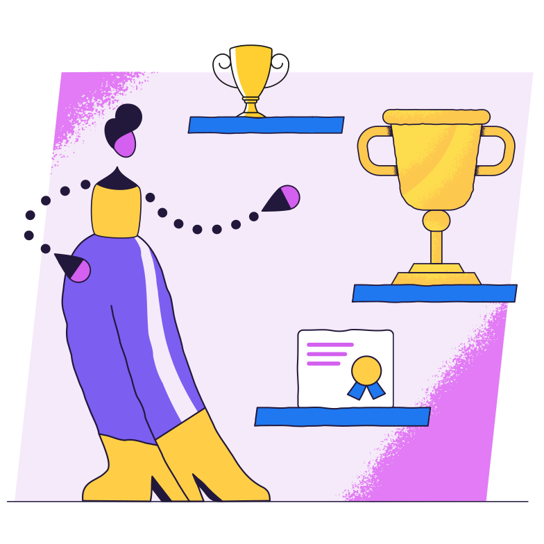 style List of achievements Vector images in PNG and SVG | Icons8 Illustrations