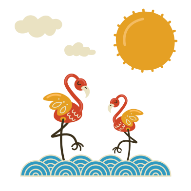 style Flamingos images in PNG and SVG | Icons8 Illustrations
