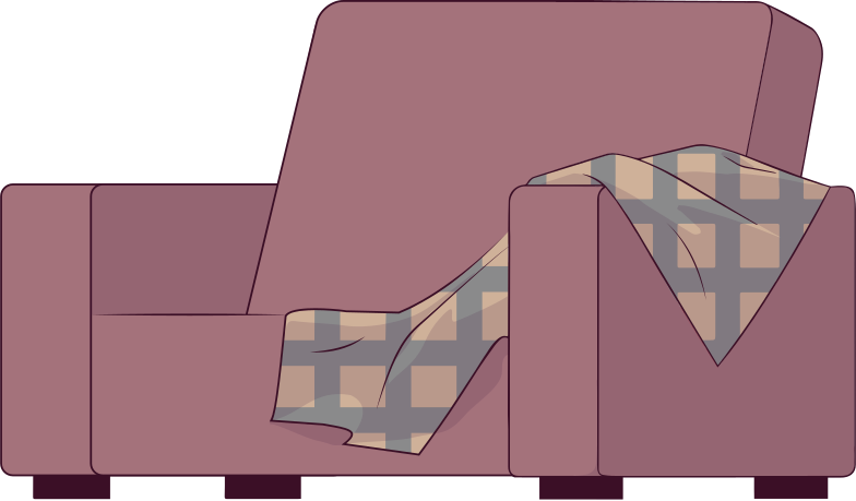 arm-chair Clipart illustration in PNG, SVG
